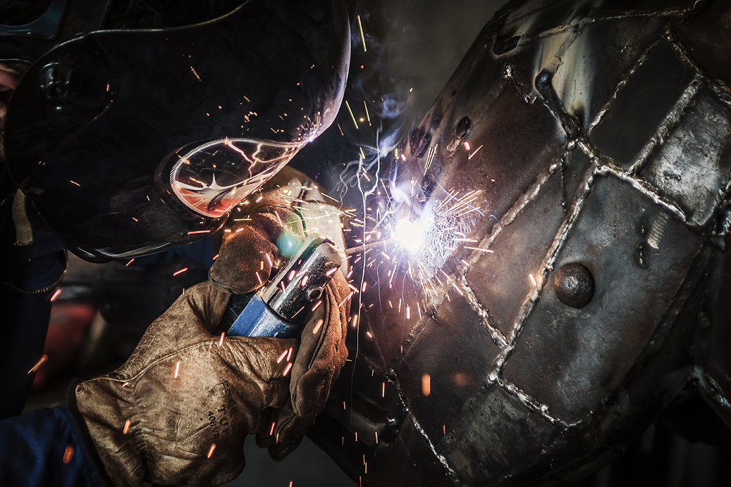 Le sculpteur sur acier
